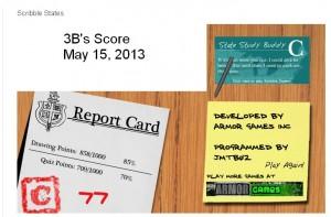 3b score